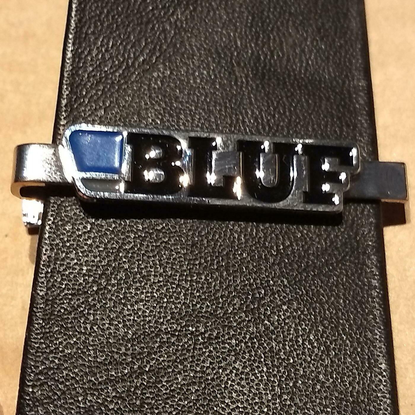 BLUF tie clip - nickel