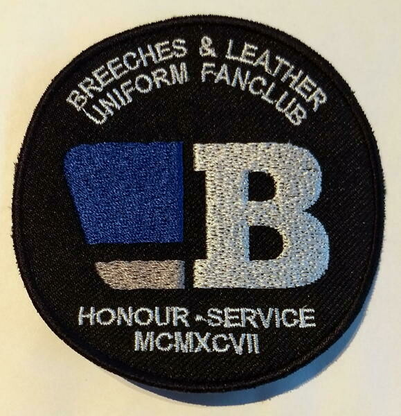 BLUF Embroidered badge - circle