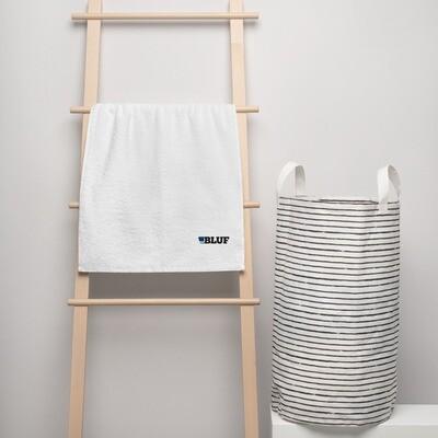 Turkish cotton towel, white
