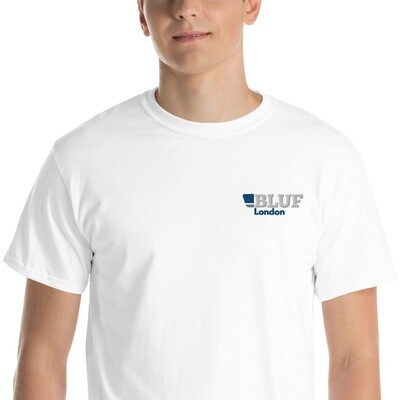 BLUF London Embroidered T shirt