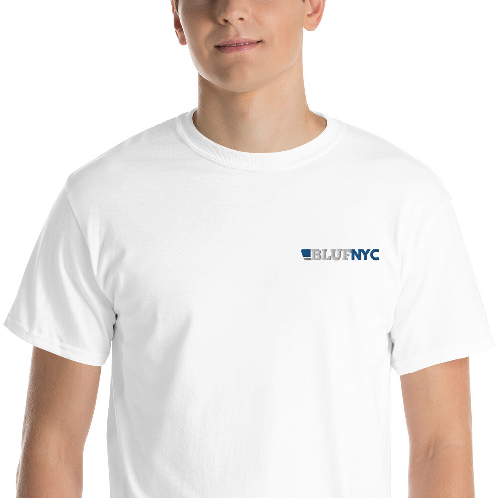BLUF NYC Embroidered T shirt