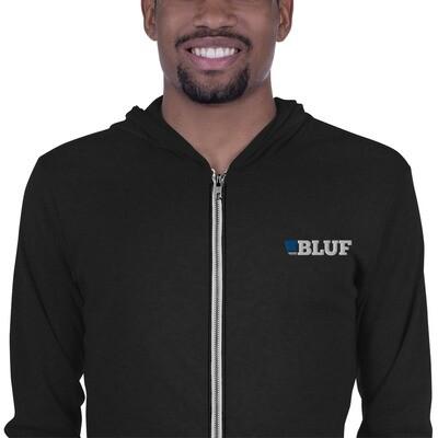 Lighweight zip hoodie
