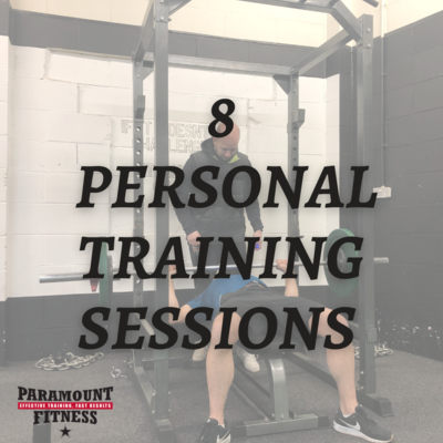 8 Personal Training Sessions