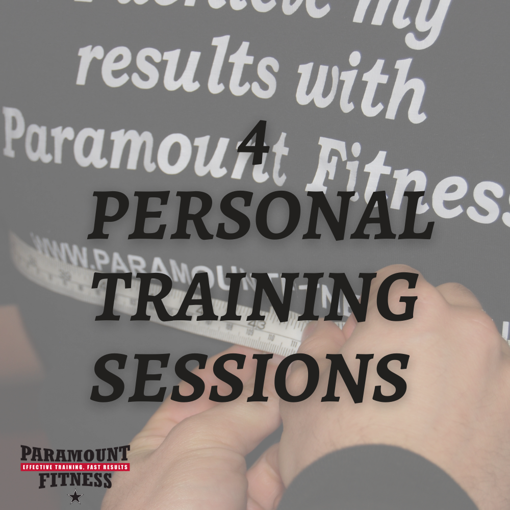 4 Personal Training Sessions