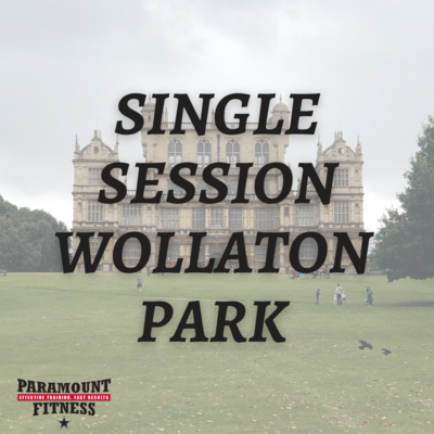 SINGLE SESSION WOLLATON PARK