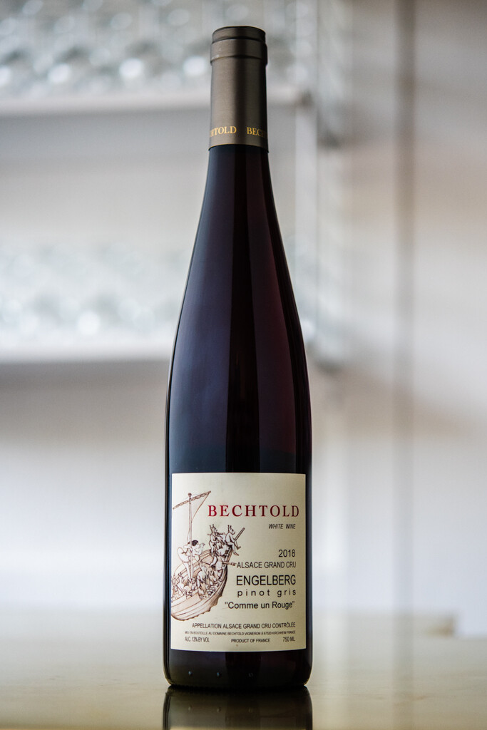 Domaine Bechtold, Comme un Rouge Engelberg Alsace Grand Cru Pinot Gris (2018)