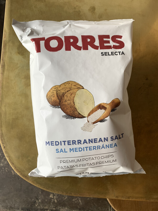 Torres Mediterranean Sea Salt Chips