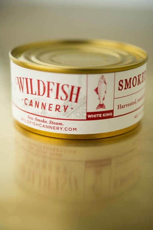 Wildfish Cannery, Smoked White King Salmon