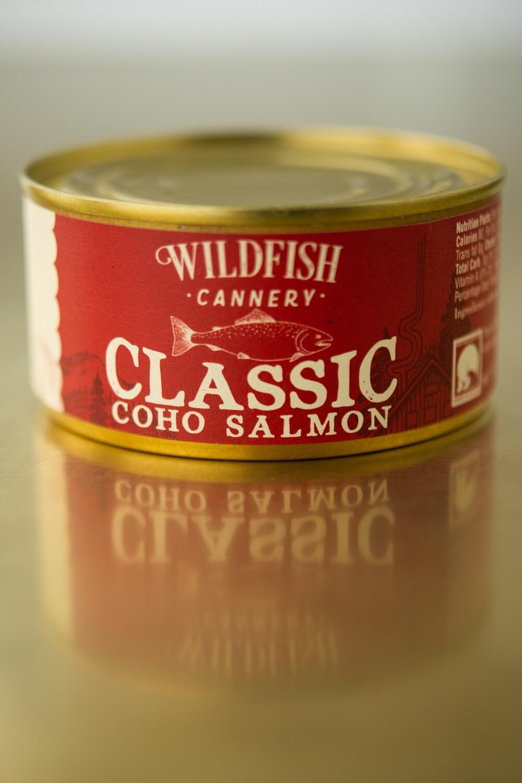 Wildfish Cannery, Classic Coho Salmon