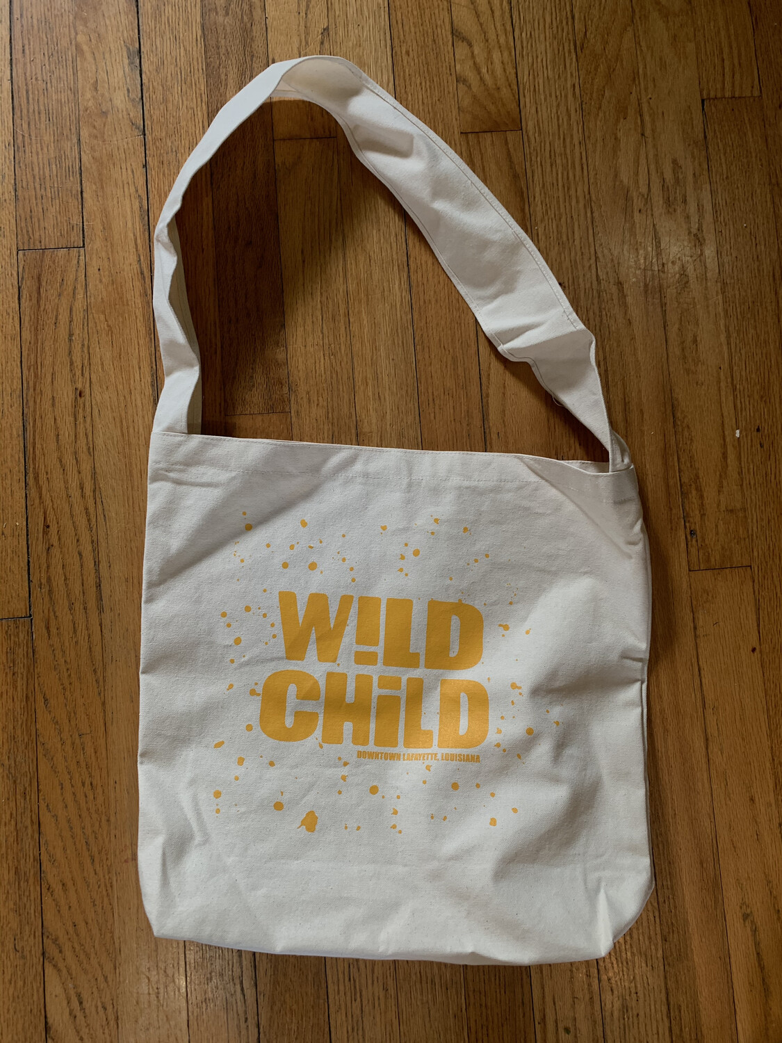 Wild Child Canvas Messenger Bag
