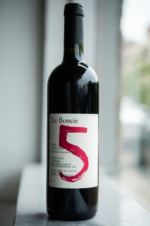 Podere Le Boncie, 'Toscana Il Cinque' (2018)