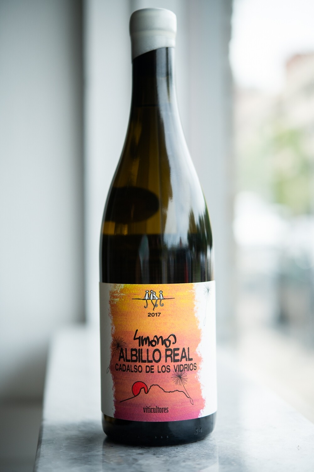 4 Monos, Vinos de Madrid Albillo Real (2017)