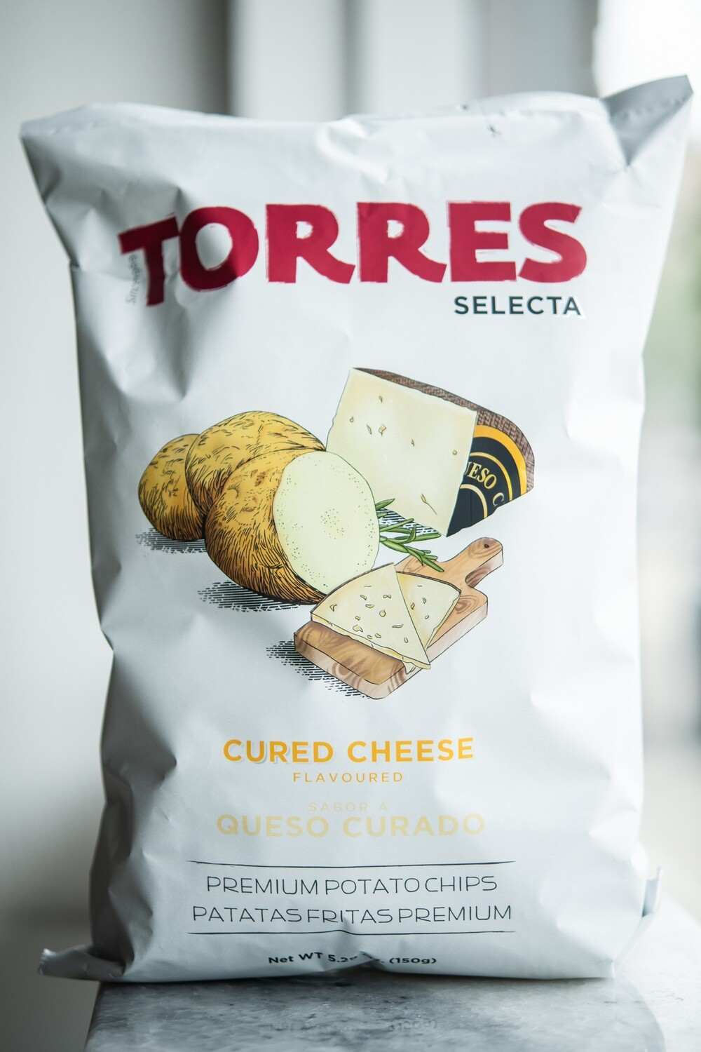 Torres Cured Cheese Potato Chips