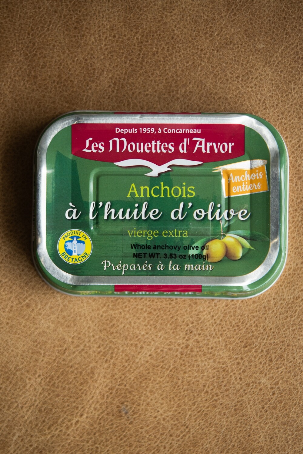 Les Mouettes d'Arvor Anchovies in Olive Oil