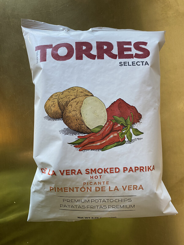 Torres De La Vera Hot Smoked Paprika Chips