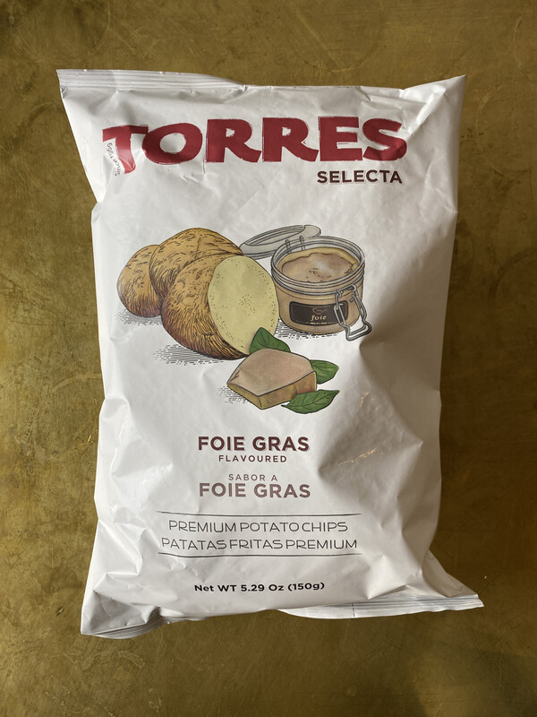 Torres Foie Gras Potato Chips
