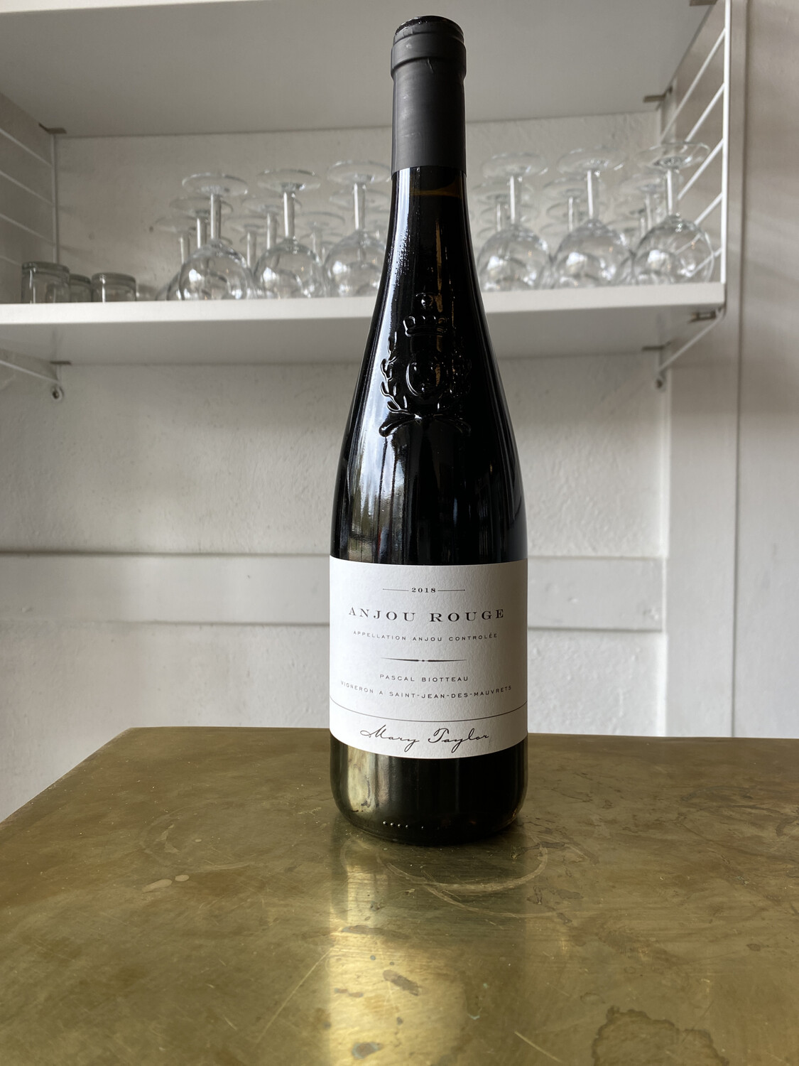 Mary Taylor, Pascal Biotteau Anjou Rouge (2018)