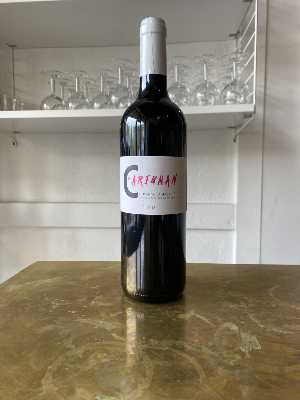 Domaine La Manarine, Vin de Pays du Vaucluse Carignan (2018)