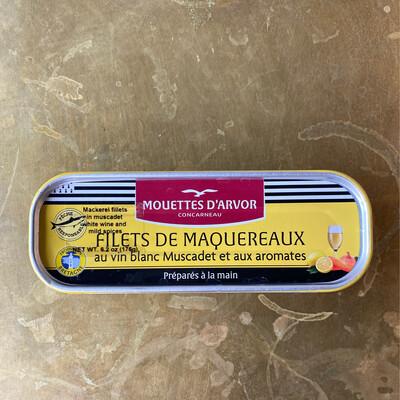 Les Mouettes d'Arvor Mackerel in Muscadet Wine & Herbs