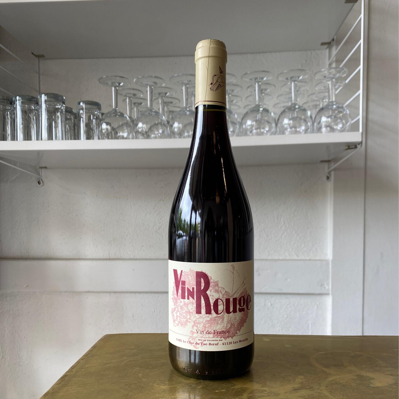 Clos du Tue-Boeuf, Vin Rouge (2018)