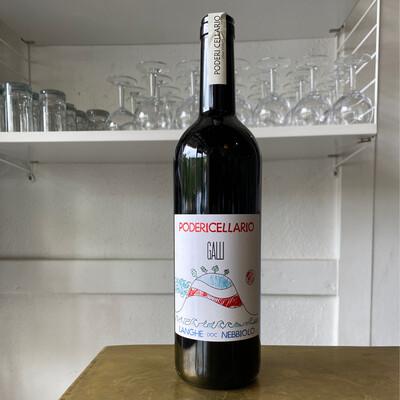 Poderi Cellario 'Galli' Langhe Nebbiolo (2019)