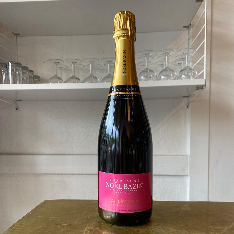 Champagne Noel Bazin 'La Pimpante' Brut Rose (NV)