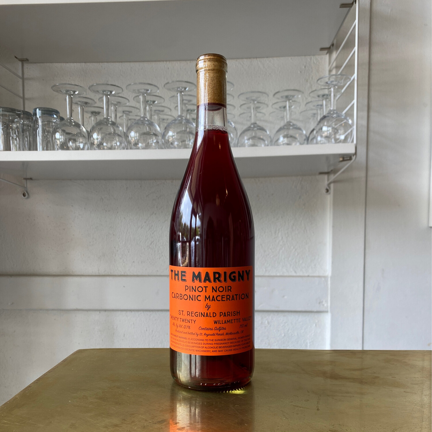 The Marigny, Carbonic Pinot Noir (2020)