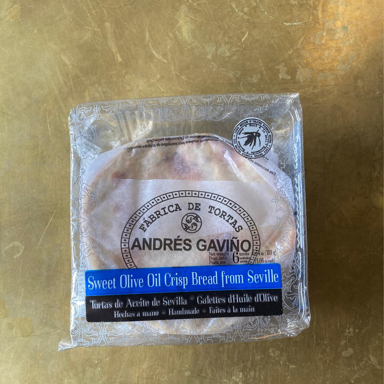 Andres Gavino Sweet Olive Oil Tortas Pack