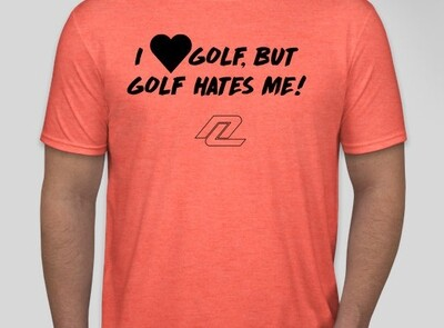 Limited Edition T-Shirt I LOVE GOLF