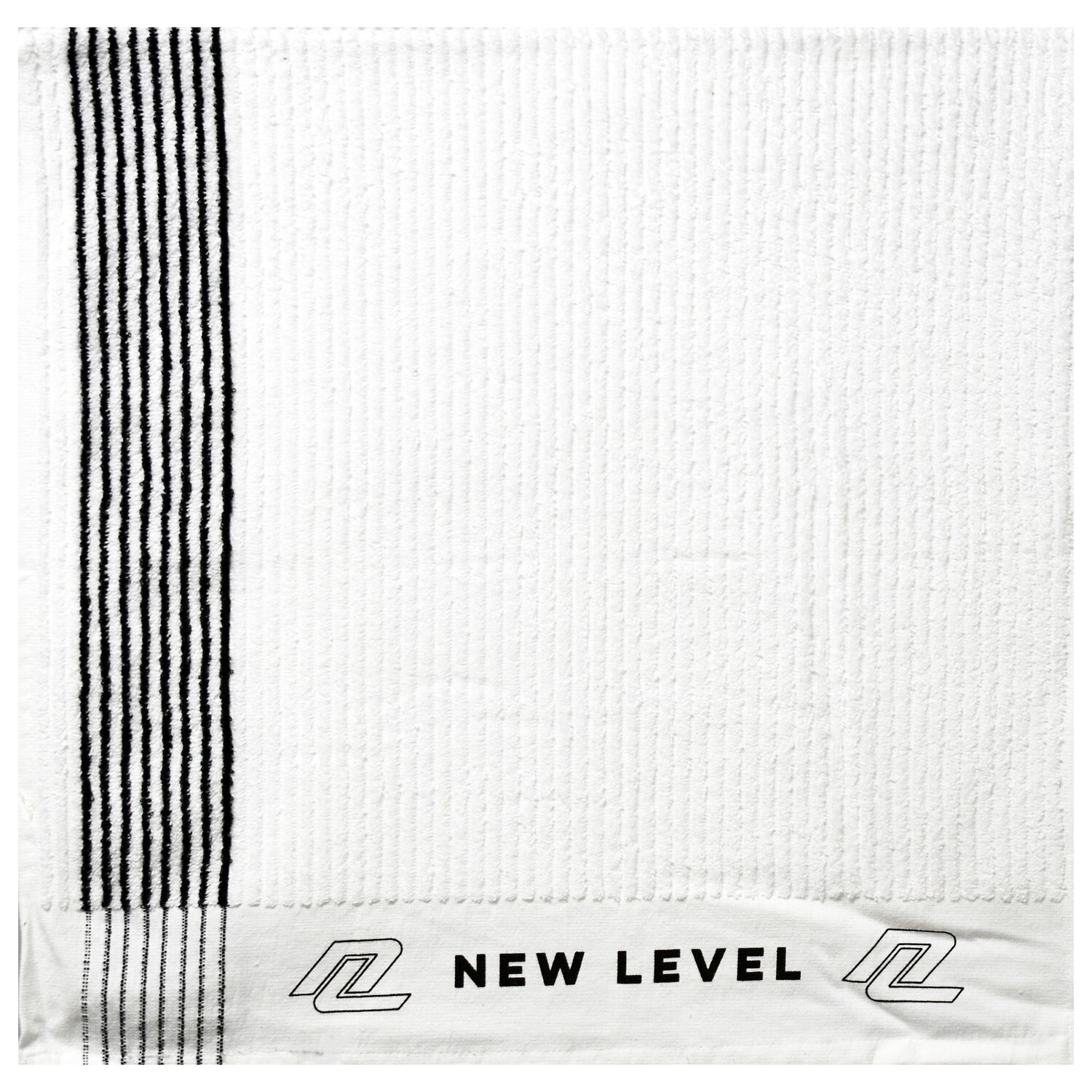 """New Level """"STRIPED"""" Caddy Towel"""