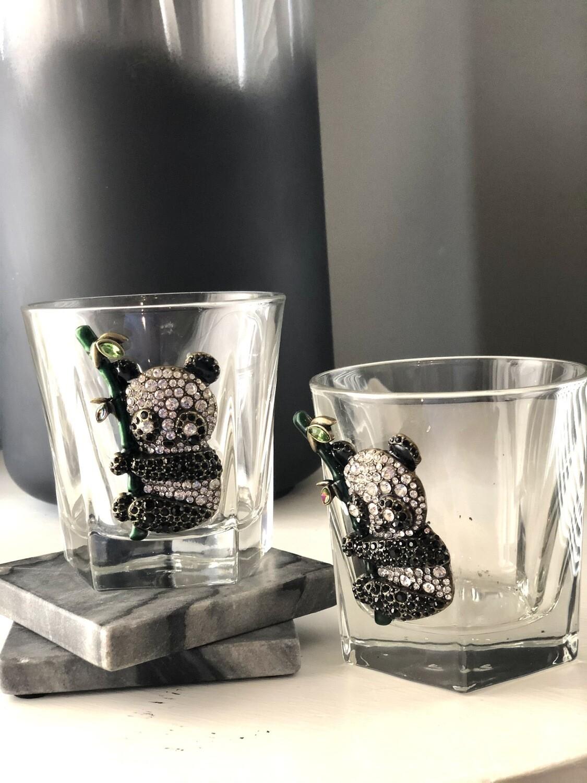 Panda Express Bourbon Glasses: Set of Two