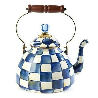 Royal Check Tea Kettle 3 Quart