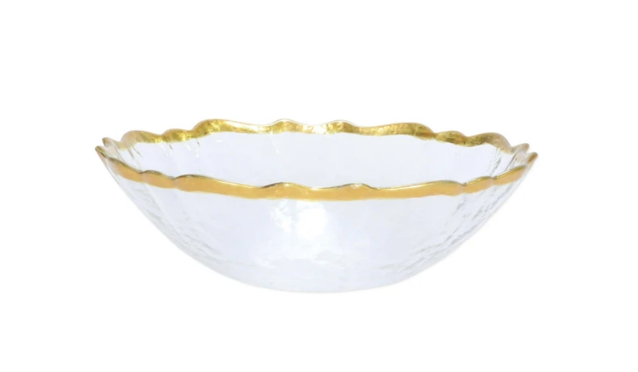 Baroque Glass Small Bowl