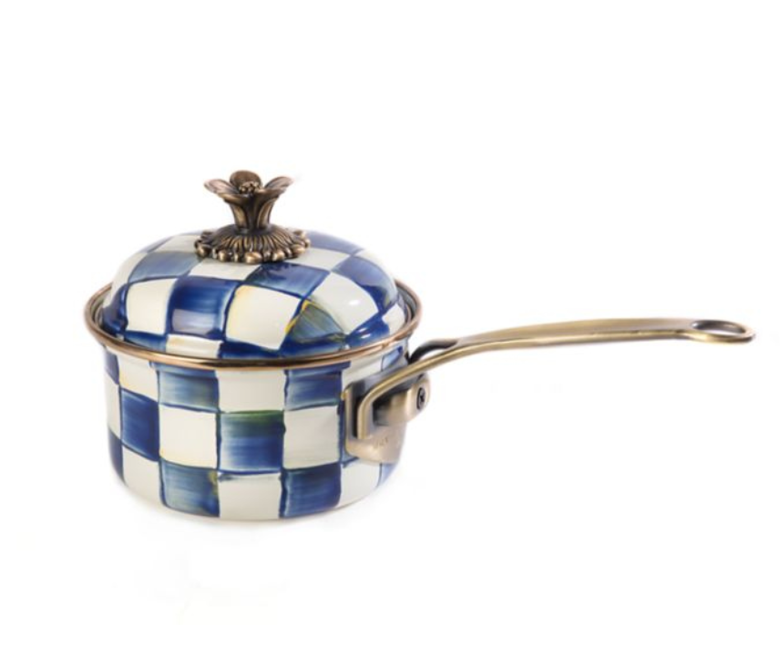 Royal Check 1qt. Saucepan