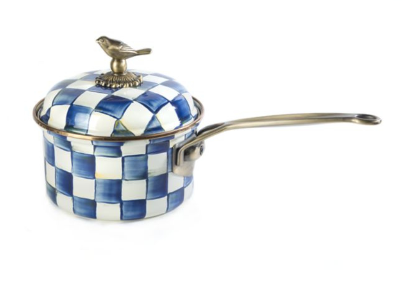 Royal Check 2.5 Qt. Saucepan