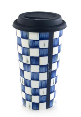 Royal Check Travel Cup
