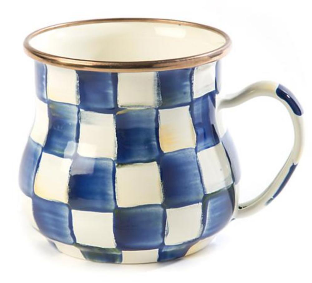 Royal Check Mug