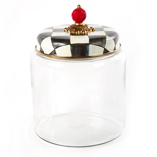 Courtly Check Kitchen Canister - Large