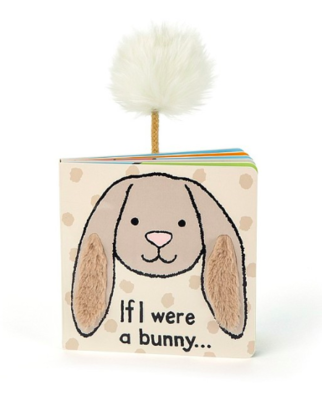 If I Were A Bunny Book (BIEGE)
