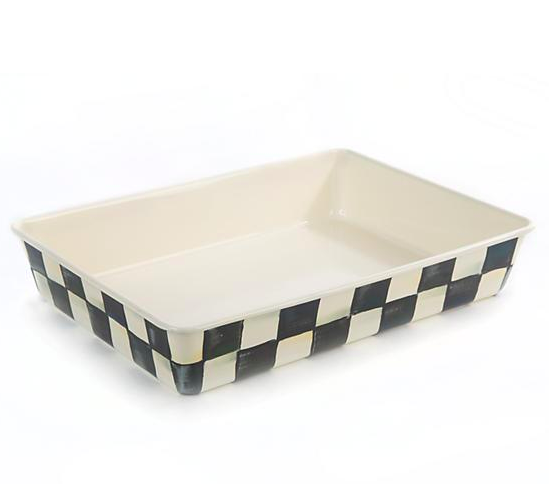 Courtly Check Enamel Baking Pan - 9x13in
