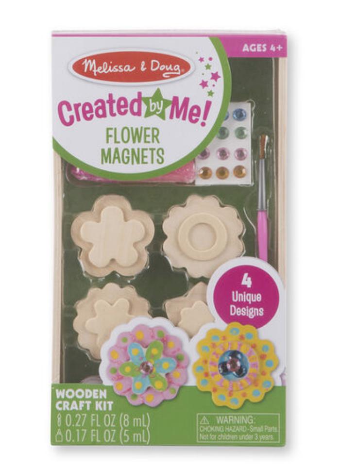 Flower Magnets #9582