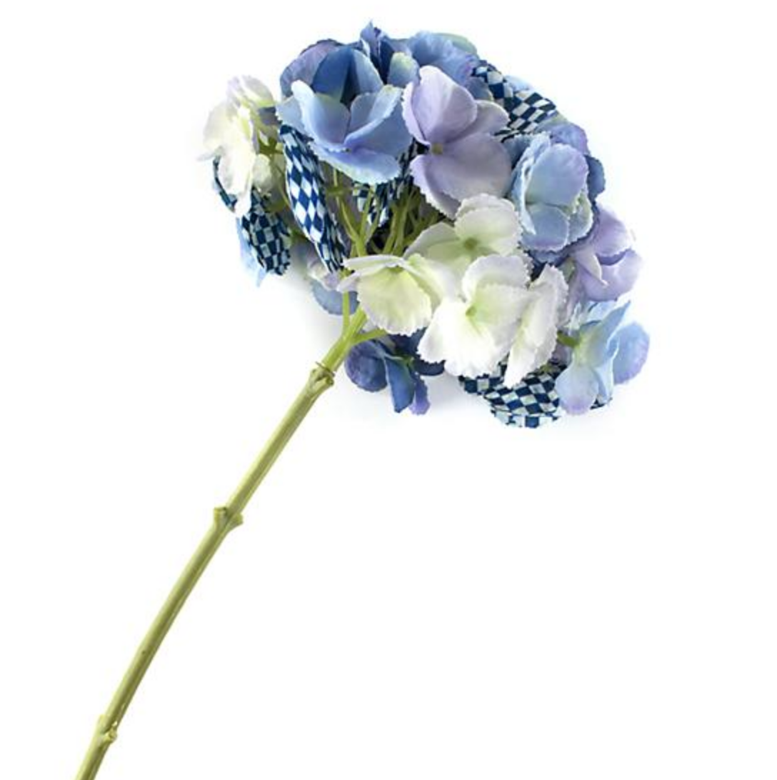 Royal Check Hydrangea - Blue