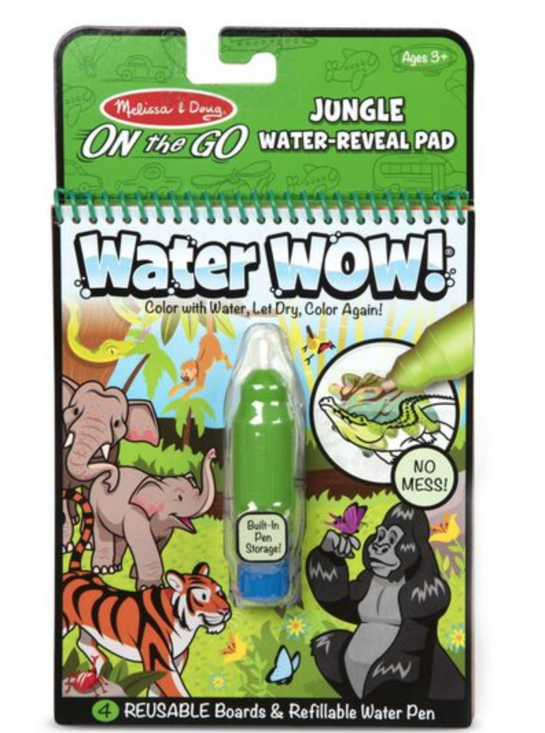 Water Wow Jungle Water Reveal Pad