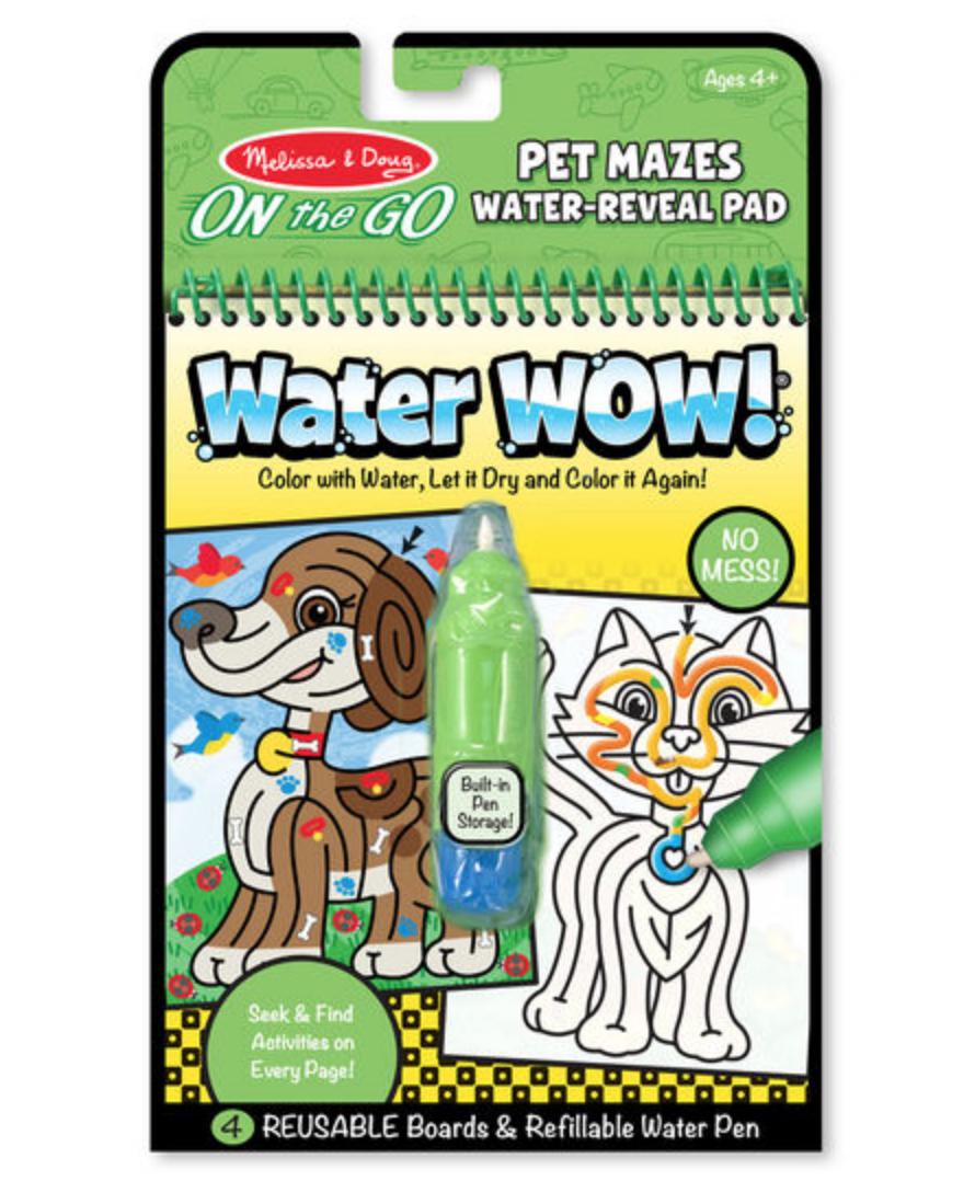 Water Wow - Pet Mazes #9484