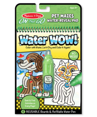 Water Wow - Pet Mazes #9484