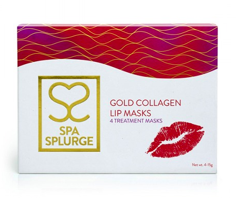 Gold Collagen Lip Masks