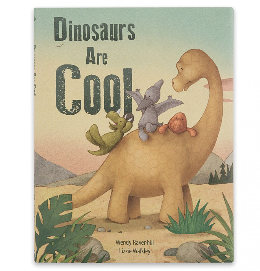 Book: Dinosaurs Are Cool #BK4DCUS