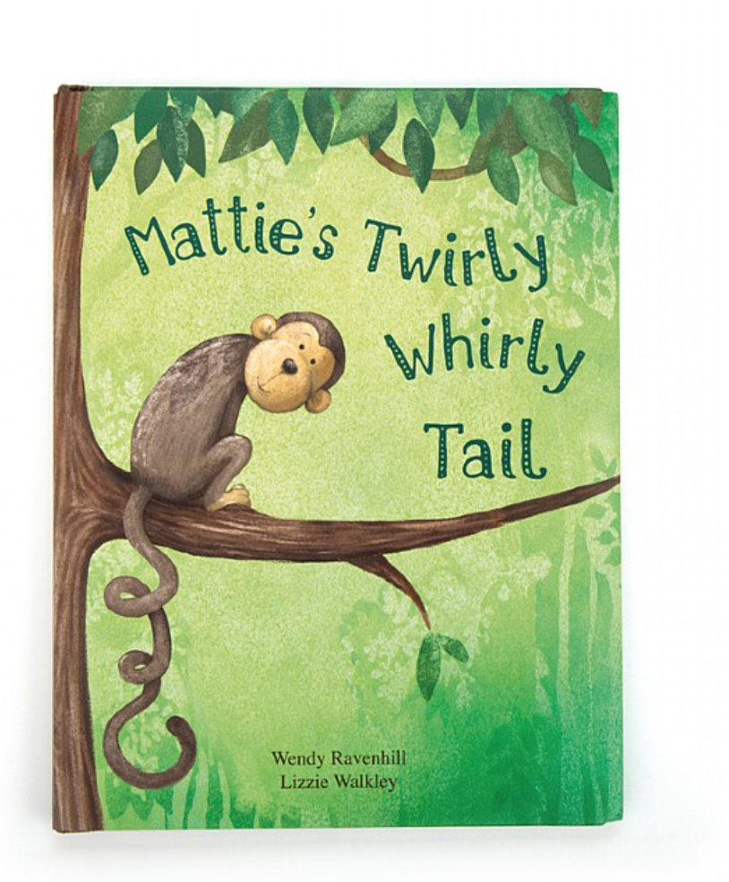 Mattie Twirly Whirly Tail Book #BK4MTUS
