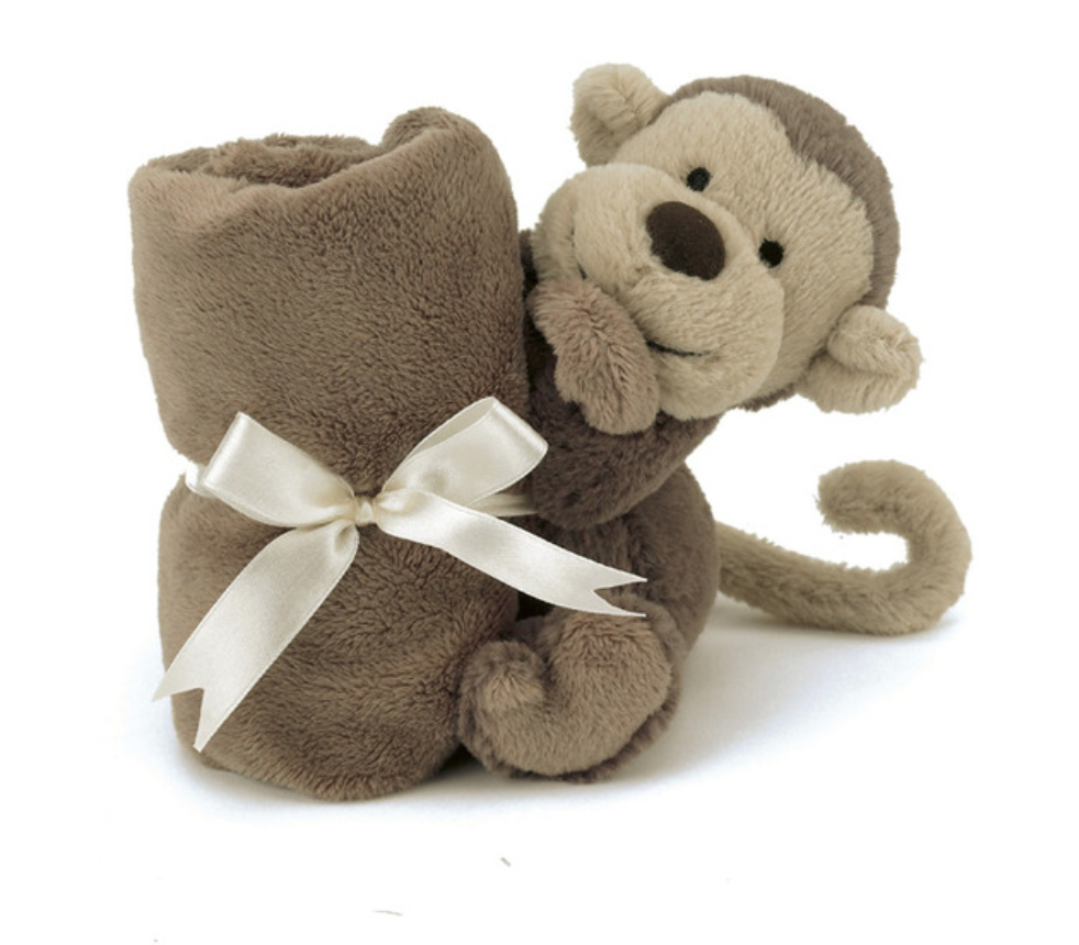 Bashful Monkey Soother #SO4MK