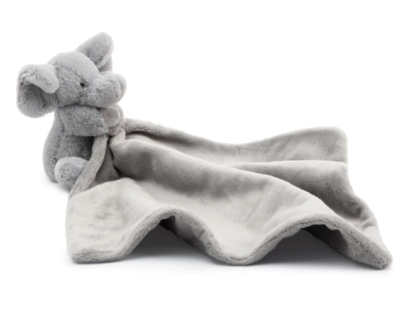 Bashful Gray Elephant Soother #SO4BE